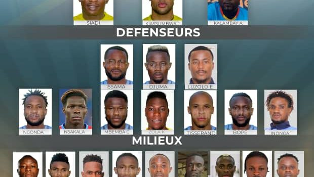 Sélection mars 2021 vs Gabon et Gambie