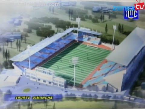 Maquette nouveau Stade Lumumba (Chantier)